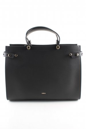 Furla Tote schwarz Business-Look