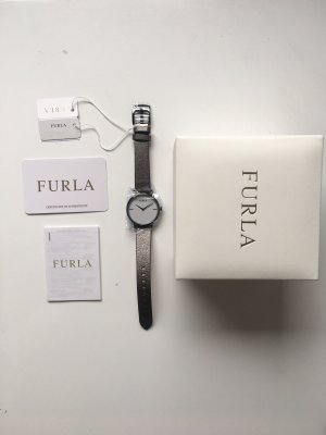 Furla Watch With Leather Strap multicolored