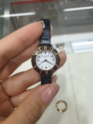 Furla Uhr mit Lederband