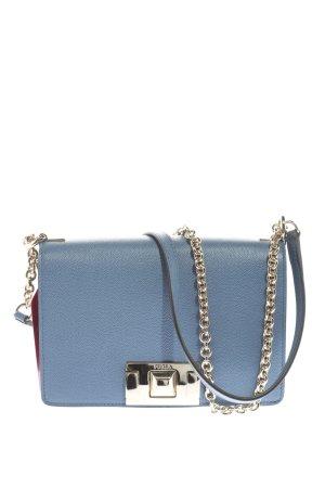 Furla Umhängetasche blau-silberfarben Casual-Look
