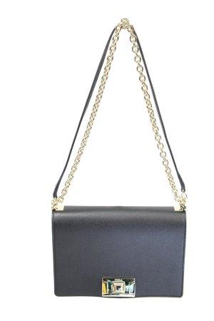 Furla Umhängetasche in Schwarz aus Leder