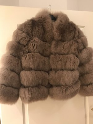 Furs by Natalia Chunky Fox Fur Coat Echtfell Jacke