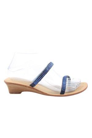 Fusion Comfort Sandals blue elegant