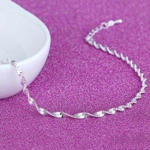 Zilveren ketting wit