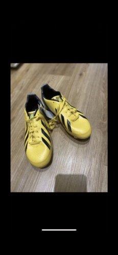 Adidas Scarpa stringata giallo-nero