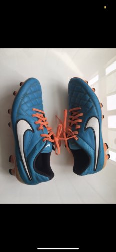 Fußballschuhe Nike blau orange