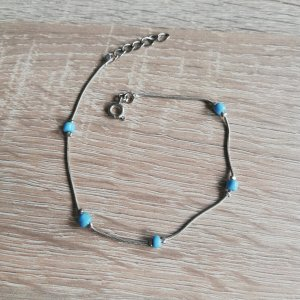 Anklet light blue-light grey