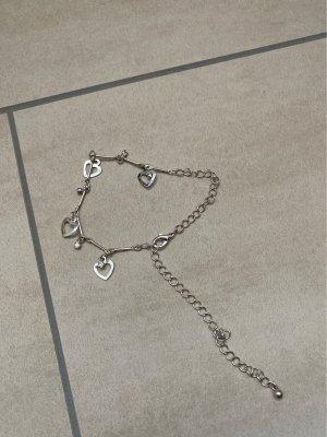 Bjou Brigitte Anklet silver-colored