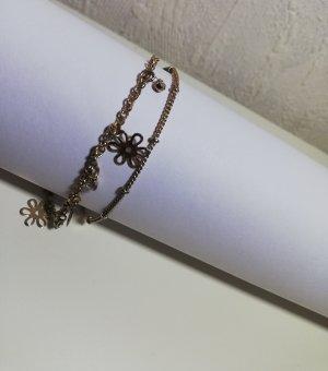 Chaîne de cheville bronze-doré