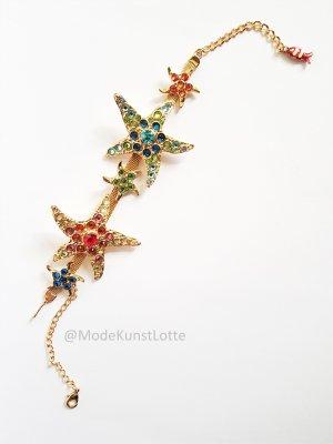 KAREN MILLEN Chaîne de cheville multicolore métal