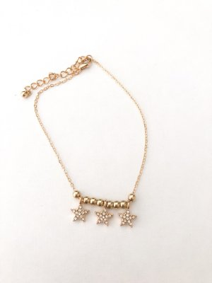 Anklet gold-colored-silver-colored