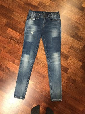 17&co Skinny Jeans blue cotton