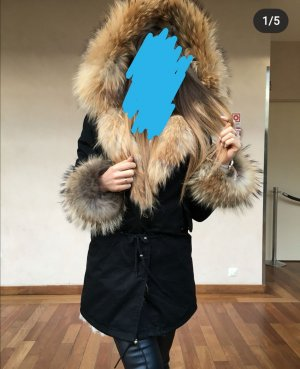 Hand made Parka zwart