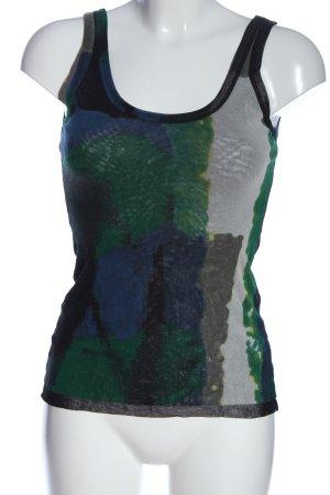 Fuzzi Camiseta sin mangas estampado con diseño abstracto look casual
