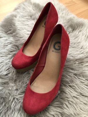 G by Guess High Heels Schuhe rot