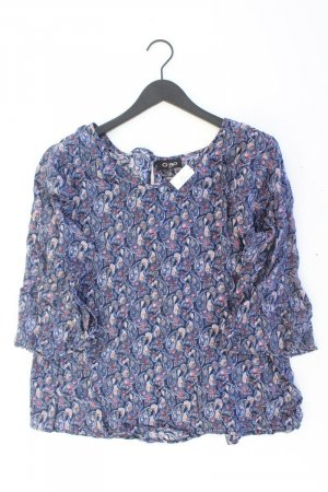 G!na Bluse blau Paisleymuster Größe XL