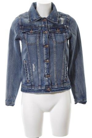 G!na Jeansjacke blau Casual-Look