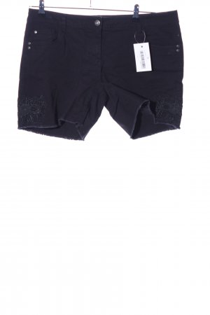 G!na Jeansshorts schwarz Casual-Look