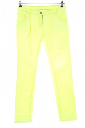 G!na Jeans slim fit giallo pallido stile casual