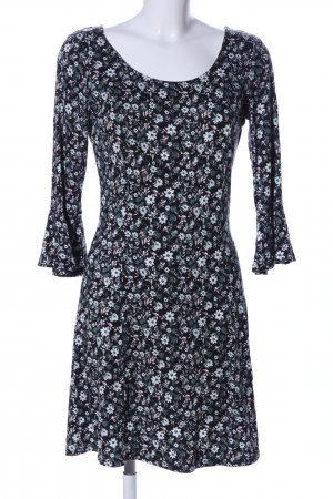 G!na Stretchkleid Blumenmuster Casual-Look