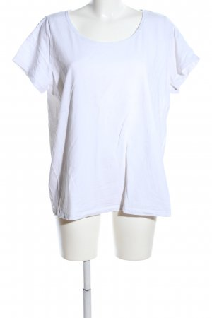 G!na T-Shirt weiß Casual-Look