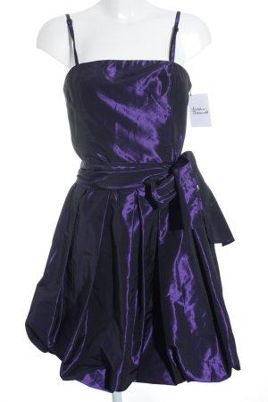 G.O.L. Abendkleid dunkelviolett Elegant