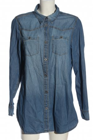 g perfect jeans Denim Shirt blue casual look