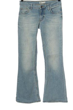 g perfect jeans Jeansowe spodnie dzwony niebieski W stylu casual