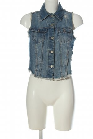 g perfect jeans Jeansweste blau Casual-Look