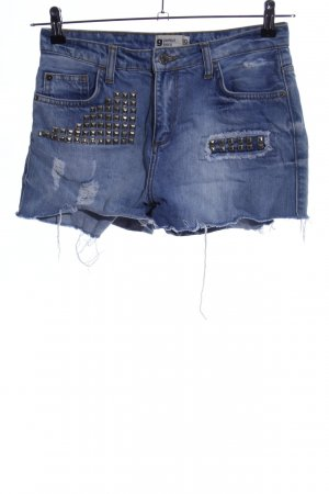g perfect jeans Shorts blau Casual-Look