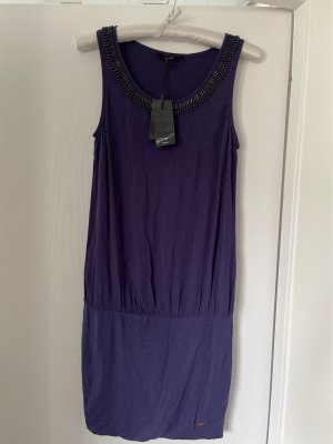 G.SEL MILANO Tube Dress dark violet-grey violet