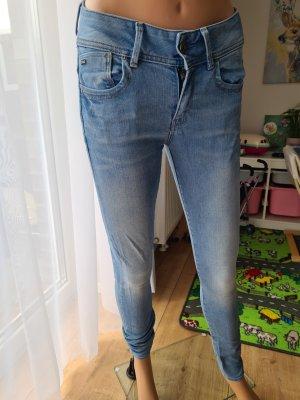 G-Star Jeans a sigaretta azzurro-blu