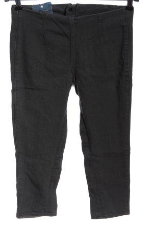 G-Star Jeans 3/4 noir Motif de tissage style décontracté