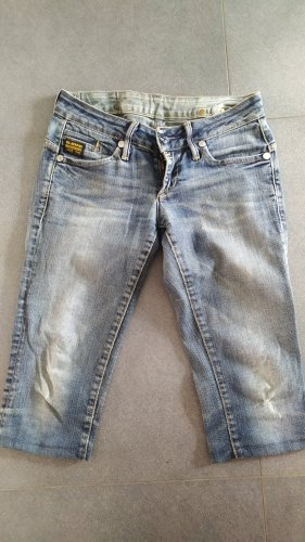 G-Star 3/4 Jeans Hose Gr. 28 M hellblau