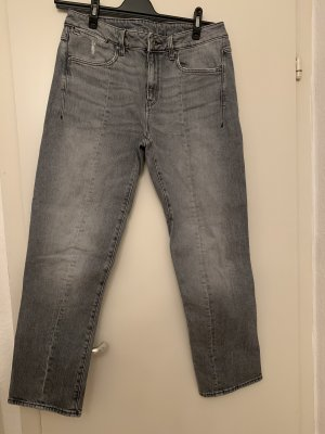 G-Star Hoge taille jeans grijs
