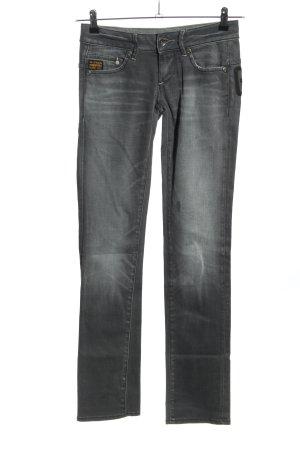 G-Star 7/8 Jeans hellgrau Casual-Look
