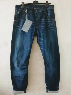 Gstar Baggy jeans donkerblauw