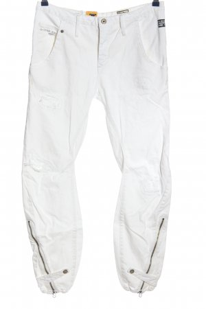 G-Star Jeans larghi bianco stile casual