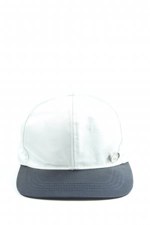 G-Star Baker's Boy Cap white-blue casual look