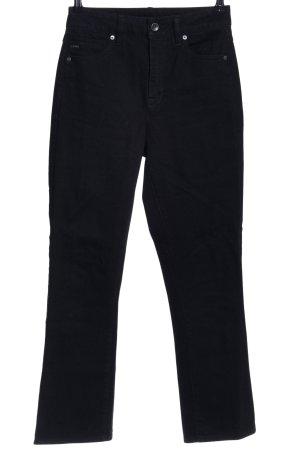 G-Star Boot Cut Jeans schwarz Business-Look