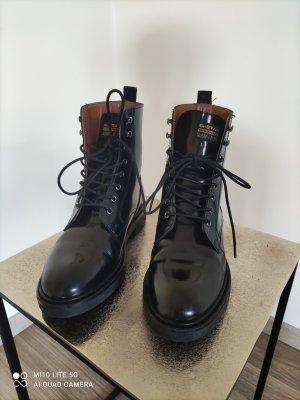 G-Star Bottines à lacets noir