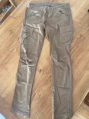 Gstar Pantalone cargo color cammello