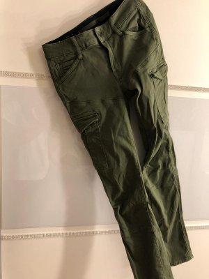G-Star Pantalon cargo vert olive-vert foncé