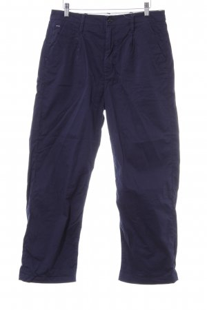 G-Star Chinohose dunkelblau Casual-Look