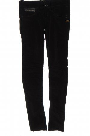 G-Star Corduroy Trousers black casual look