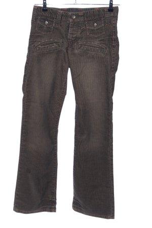 G-Star Pantalón de pana color bronce look casual