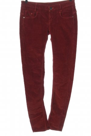 G-Star Corduroy Trousers red casual look