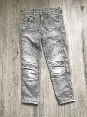 G-Star Raw 3/4 Length Trousers light grey cotton