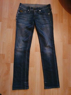 G-Star Jeansy biodrówki niebieski-stalowy niebieski