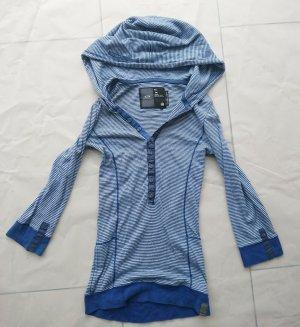 G-Star Top à capuche bleu-blanc